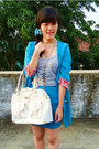 Sky-blue-local-boutique-blazer-white-guess-bag-sky-blue-forever-21-skirt