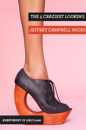 black Jeffrey Campbell pumps