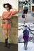 White-peplum-top-black-skirt