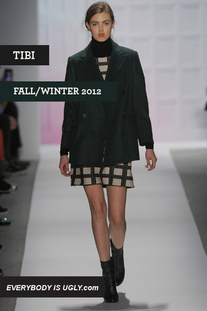 dark green Tibi coat
