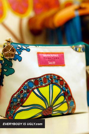 White-trina-turk-bag