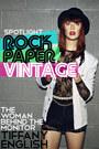 white Rock Paper Vintage blazer - black lace Rock Paper Vintage bodysuit