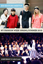 EIU Editors Meetup At NY Fashion Week Spring 2012