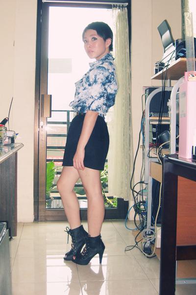 shirt - Closet Queen skirt - shoes