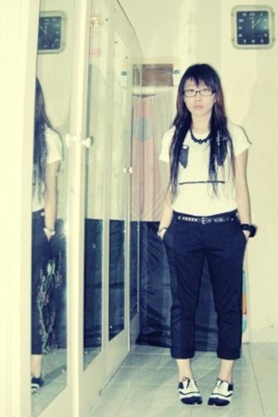 Zara shirt - belt - NyLa pants - aDLabelized shoes