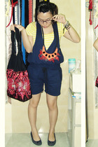 top - pants - Nefertiti necklace - Gap shoes - from Thailand accessories