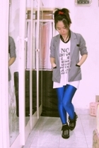 aDDorable blazer - Bossini t-shirt - unknown leggings - accessories - shoes