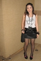 MNG shirt - skirt - shoes