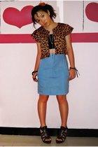 Dakota Rochdale blazer - top - Gaudi jeans - GoJane shoes