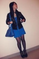 dress - jacket - accessories - shoes