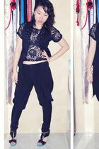 La Senza bra - top - Princesse vest - Closet Queen pants - shoes