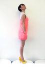 Pink-simones-rose-dress-gold-aldo-shoes-silver-brazen-design-necklace-silv
