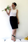 White-osklen-top-black-unknown-brand-skirt-green-naughty-monkey-shoes