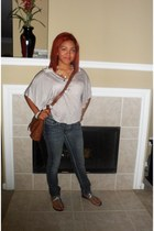 Charlotte Russe bag - Jcpenny jeans - Autumn Run sandals