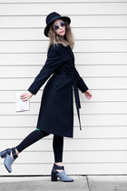 silver Lulus bracelet - black FEW MODA coat