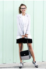 Silver-chicwish-blazer-black-jump-from-paper-bag-heather-gray-timex-watch