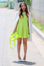 Chartreuse-neon-lovelywholesale-dress-chartreuse-new-look-bag