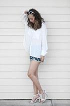 aquamarine Grayson shorts