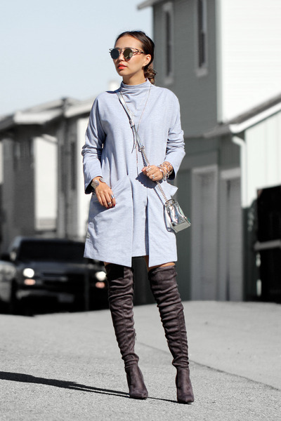Heather-gray-public-desire-boots-heather-gray-sheinside-dress