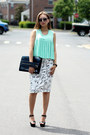 White-lovemartini-skirt