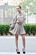 neutral letthemstare dress