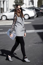 heather gray Shellys London shoes