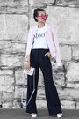 Light-pink-forever-21-jacket-white-forever-21-top-navy-forever-21-pants