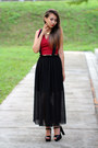 Brick-red-choies-top-black-zappos-heels