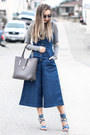 Charcoal-gray-2020ave-sweater-blue-public-desire-sandals-blue-lulus-romper