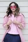 Bubble-gum-polette-sunglasses-navy-oasap-skirt