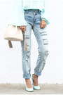 Periwinkle-ny-company-jeans-neutral-ny-company-bag