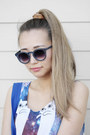 Navy-polette-sunglasses-camel-irresistibleme-hair-accessory