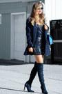 Navy-public-desire-boots-navy-lulus-dress-navy-ralf-lauren-coat