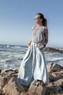 Sky-blue-denim-akira-skirt