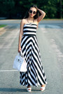 Black-lightinthebox-dress-white-tomtop-bag