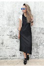 Black-forever-21-dress-black-missguided-flats-eggshell-dynamite-top