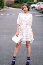white Chicwish dress - white Shopbop bag