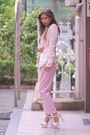 Bubble-gum-stylenanda-pants-white-zappos-heels