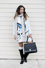 Black-macys-boots-periwinkle-blackfive-coat-peach-the-limited-scarf