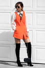 Black-public-desire-boots-navy-nina-shoes-bag-carrot-orange-n21h-romper