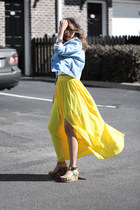 yellow Queenhorsfall Closet skirt