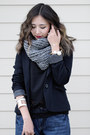 Black-castro-boots-navy-urban-outfitters-jeans-black-castro-blazer