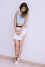 White-yesimfrench-bag-white-yesimfrench-shorts-sky-blue-yesimfrench-top