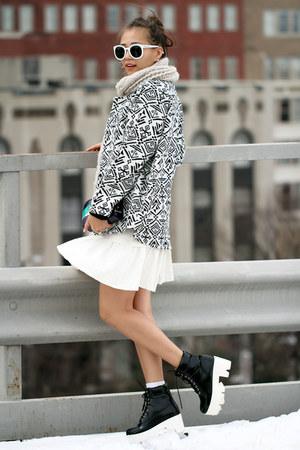 white Felice Fabric dress
