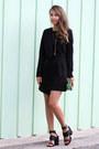 Black-topshop-dress-black-bnkr-sandals