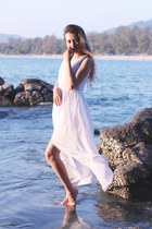 white Maxidress dress