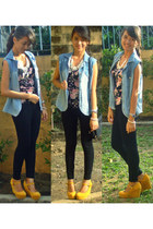 denim crossroads blazer