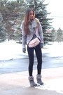Rue21-boots-armeni-exchange-coat-forever21-leggings-vintage-purse