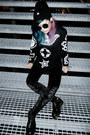 Yin-yang-beanie-hat-velvet-leggings-monki-leggings-occult-sweater-jumper
