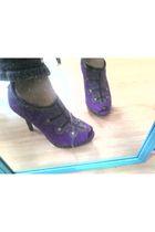 purple Dollhouse shoes